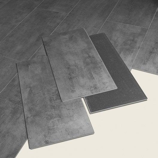 Dalle PVC clipsable zinc ARTENS Moods