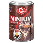 Primaire antirouille extérieur / intérieur Minium, gris, 0.25 l