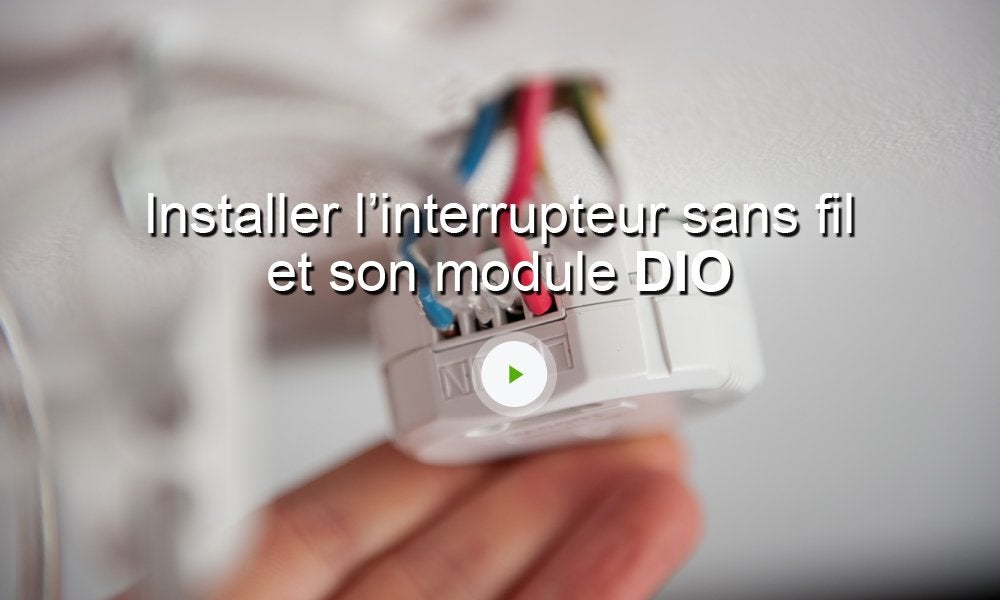 Interrupteur Connect Sans Fil Dio  Leroy Merlin