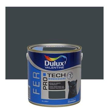 Peinture fer extérieur Pro tech  DULUX VALENTINE, anthracite, 2 l