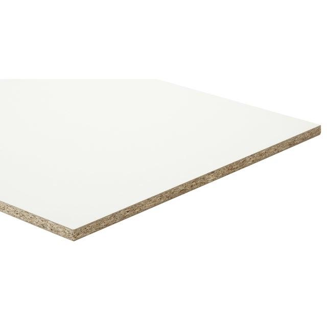 Panneau Aggloméré Blanc Ep15 Mm X L250 X L125 Cm