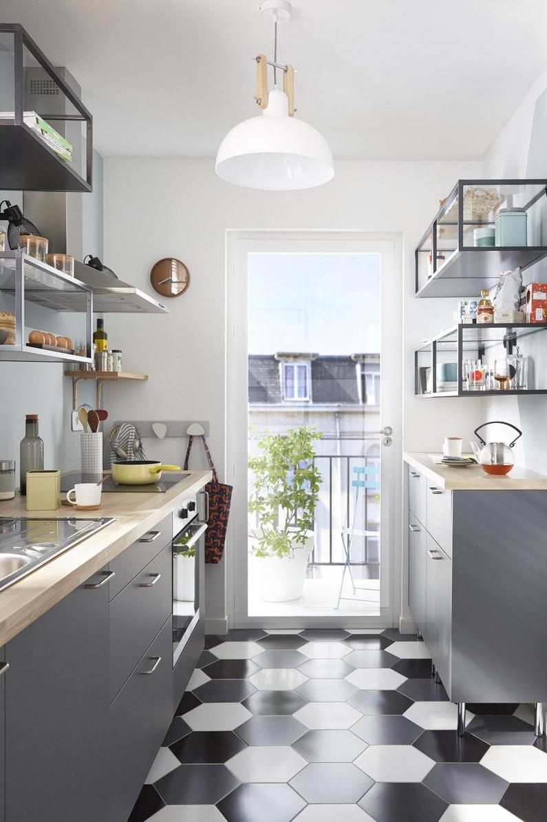 Ou Trouver Des Facades De Cuisine façade de tiroir de cuisine sofia gris, delinia id h.25.3 x l.59.7 cm