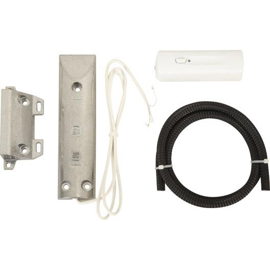 d tecteur d 39 ouverture de porte de garage connect somfy 2400551 leroy merlin. Black Bedroom Furniture Sets. Home Design Ideas