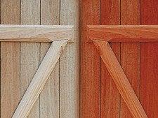 Pour modifier la couleur du bois