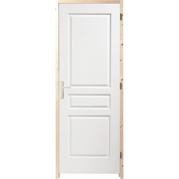 Porte int rieur et bloc porte menuiserie int rieure for Porte interieur point p