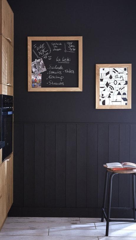 Le noir dans la cuisine