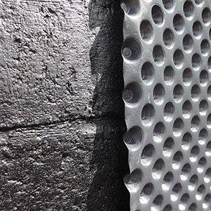 Etanchéité des murs et sols
