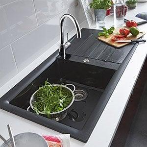 Evier et robinet de cuisine leroy merlin for Vasque evier cuisine