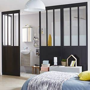 porte de placard et cloison standard et personnalisable. Black Bedroom Furniture Sets. Home Design Ideas