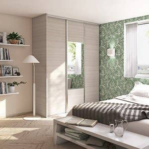 porte de placard et cloison standard et personnalisable leroy merlin. Black Bedroom Furniture Sets. Home Design Ideas
