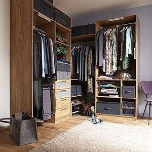 dressing rangement am nagement tag res portes de placards et accessoires leroy merlin. Black Bedroom Furniture Sets. Home Design Ideas