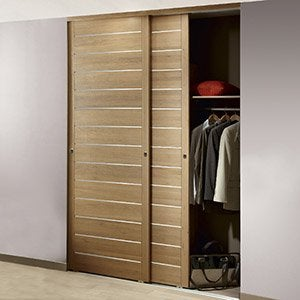 Dressing rangement am nagement tag res portes de placards et acces - Porte de couloir leroy merlin ...