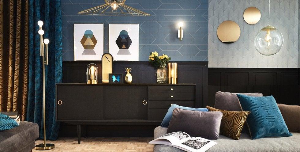 luminaire int rieur design leroy merlin. Black Bedroom Furniture Sets. Home Design Ideas