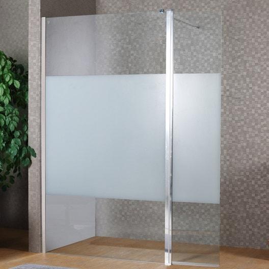 paroi de douche l 39 italienne cm cm verre s rigraphi 8 mm remix leroy merlin. Black Bedroom Furniture Sets. Home Design Ideas