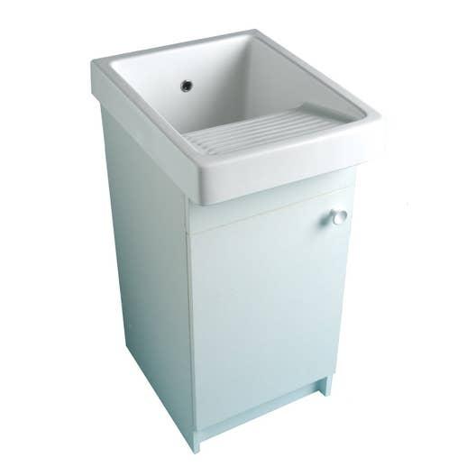 Meuble pour bac laver blanc volga leroy merlin - Resultat bac pro cuisine ...