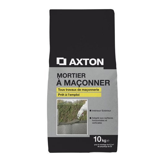 Mortier axton 10 kg leroy merlin - Dosage mortier chaux ciment sable ...