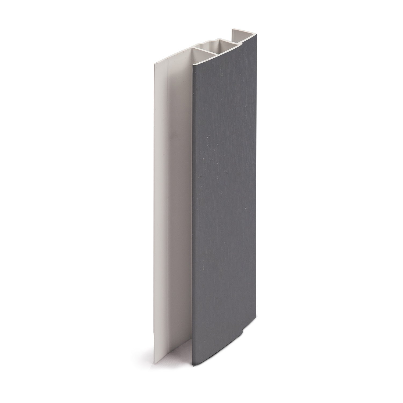 profil multifonction pvc 60 x 21 freefoam solid gris. Black Bedroom Furniture Sets. Home Design Ideas