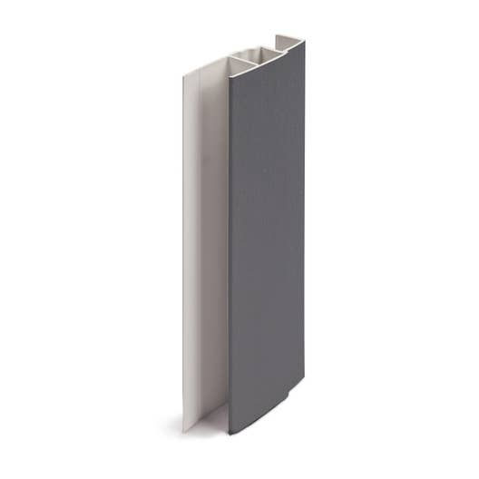 Profil multifonction pvc 60 x 21 freefoam solid gris - Porte de service pvc anthracite ...