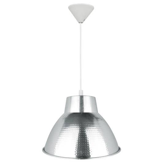 suspension e27 style industriel zipy aluminium chrom 1 x. Black Bedroom Furniture Sets. Home Design Ideas