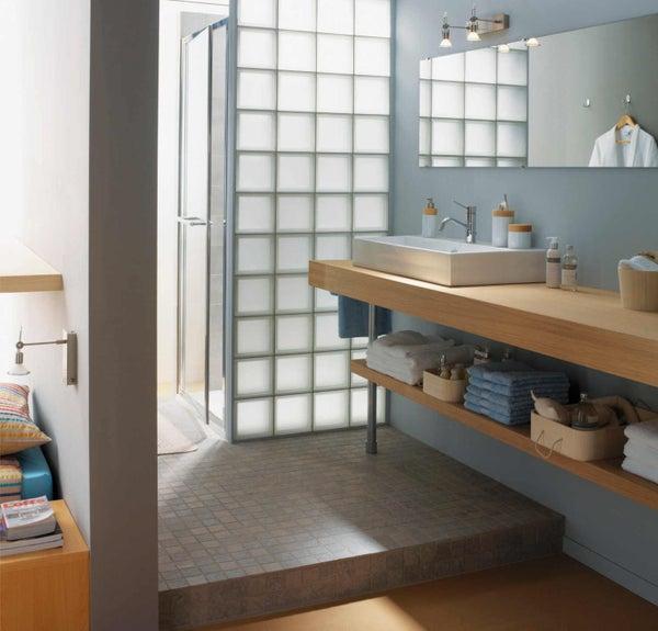 Tout savoir sur la salle de bains ouverte sur la chambre for Cloison salle de bain hydrofuge