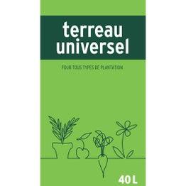 Terreau universel, 40 l