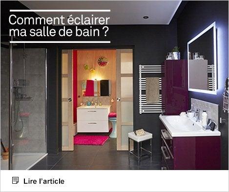 Article - Tout savoir sur l'éclairage dans la salle de bains