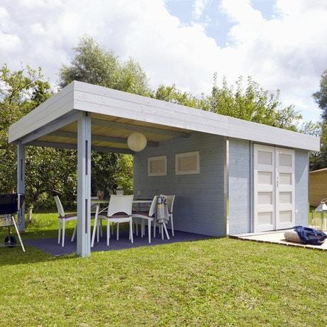 Un abri bois utile pour votre toit de terrasse