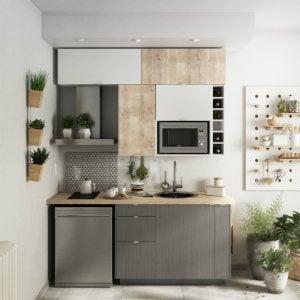 Meuble de cuisine - cuisine aménagée, cuisine équipée, en ...