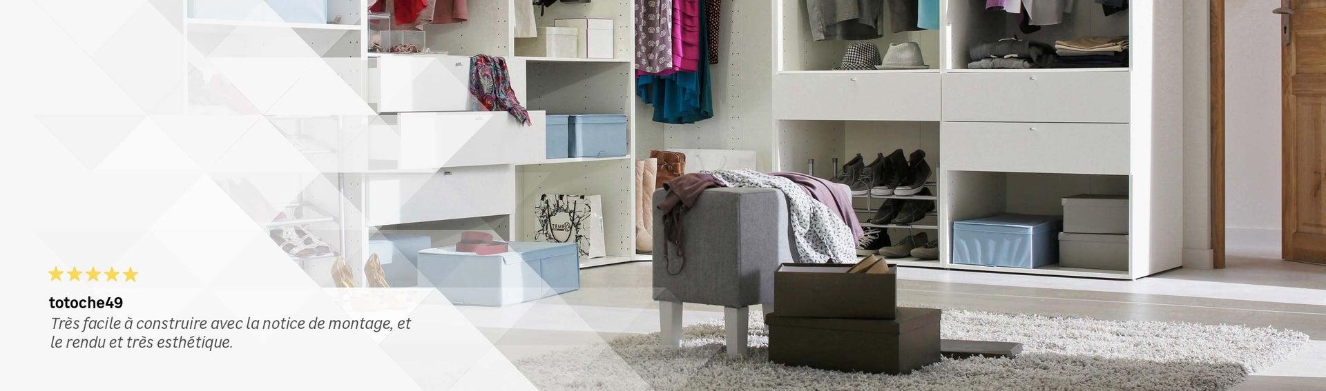 dressing rangement am nagement tag res portes de. Black Bedroom Furniture Sets. Home Design Ideas