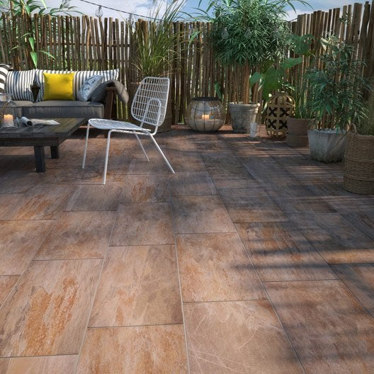Carrelage ext rieur carrelage pour terrasse au meilleur for Carrelage orange sol