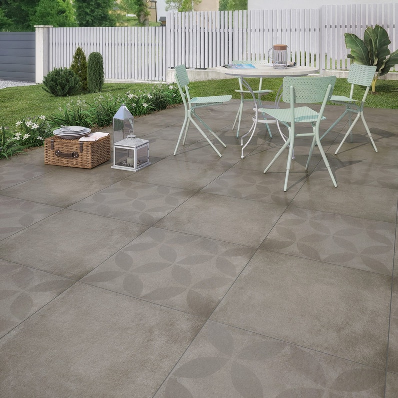 Carrelage Exterieur Gris Leroy Merlin - Carrelage Conception