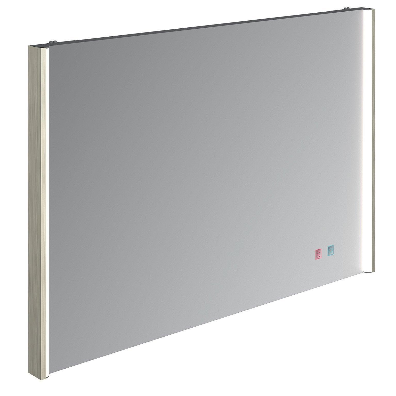 Miroir lumineux miroir avec éclairage intégré, l.90 x H.60 cm Egerie