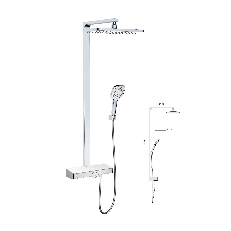 Colonne de douche avec robinetterie, SENSEA Ama