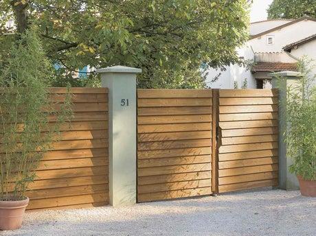 Installer un portail leroy merlin - Comment motoriser un portail coulissant ...