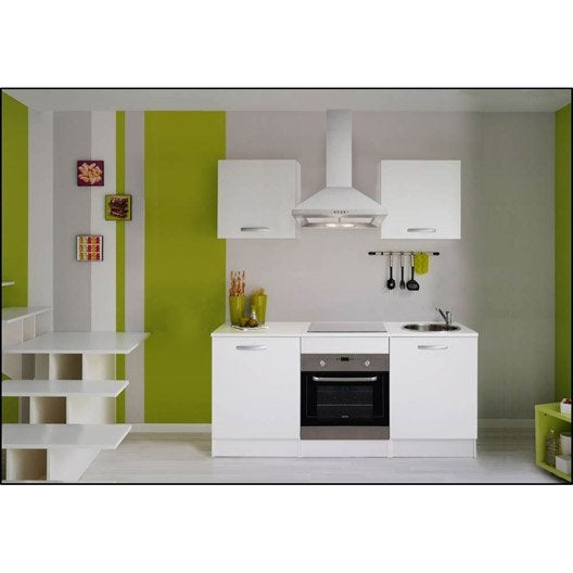 meuble de cuisine independant buffet de cuisine almond meuble microonde 60 cm blanc et gris gra. Black Bedroom Furniture Sets. Home Design Ideas