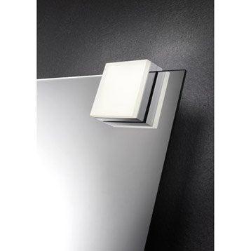 Spot à fixer sur miroir Glow, LED 1 x 5 W, LED intégrée blanc froid