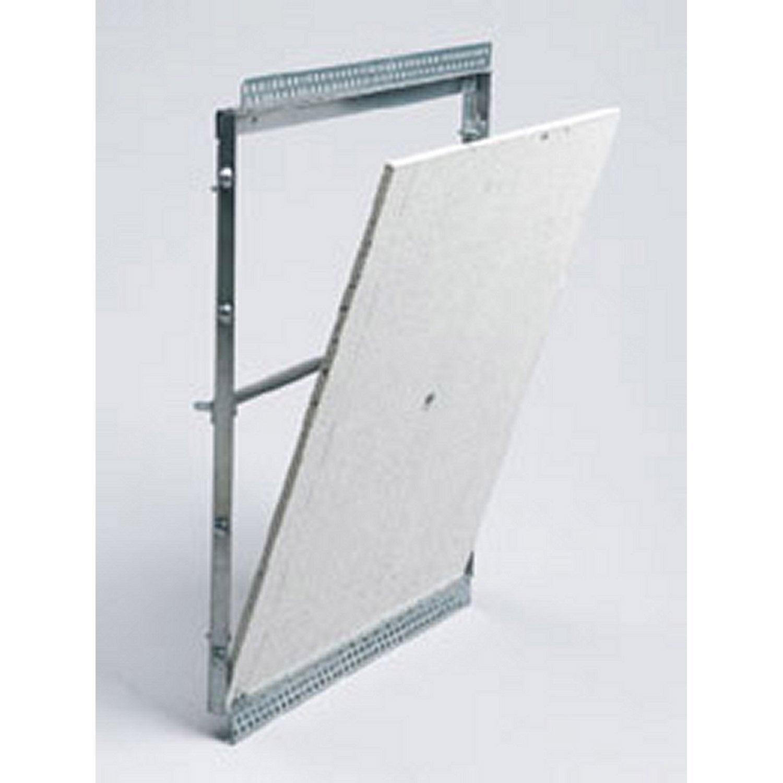 Trappe de visite à carreler , l.40 x H.45 cm, SANITRAP | Leroy Merlin