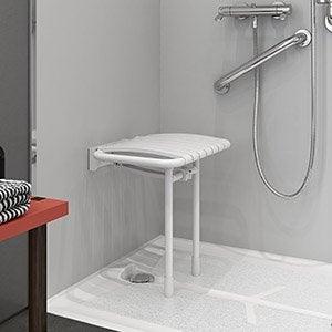Salle de bains salle d 39 eau sanitaire leroy merlin - Accessoires salle de bain pour handicapes ...