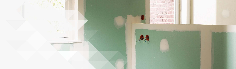 cheap plaque de pltre hydrofuge idale pour salle de bain with cloison hydrofuge salle de bain. Black Bedroom Furniture Sets. Home Design Ideas