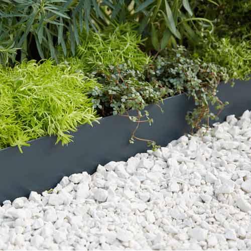 Terrasse et sol ext rieur jardin leroy merlin - Bordure de jardin pierre reconstituee ...