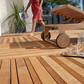 Terrasse et sol ext rieur jardin leroy merlin - Quel bois pour l exterieur ...