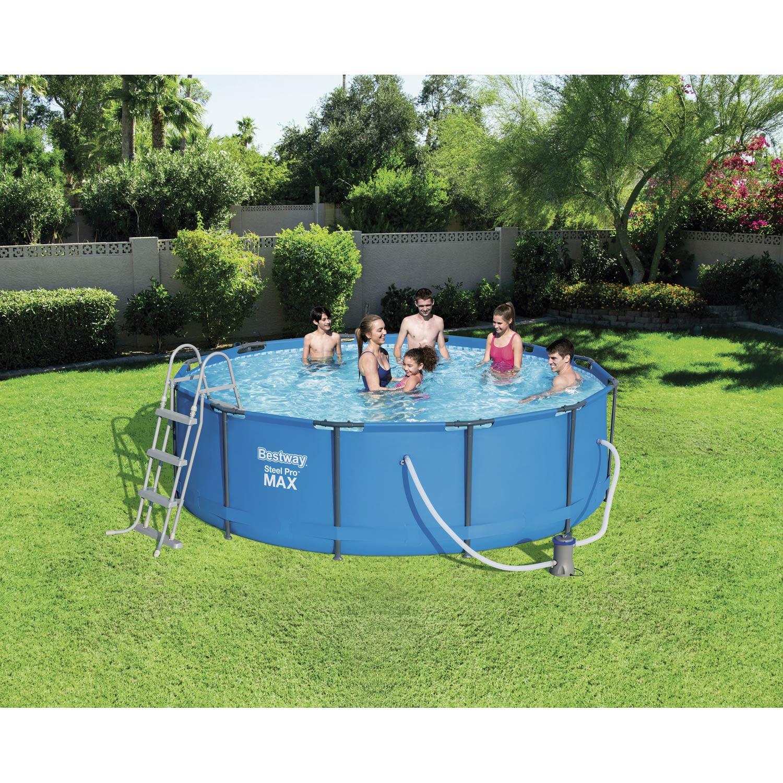 piscine hors sol tubulaire 56418 bestway diam l x l x h 1 m leroy merlin