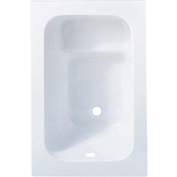 Baignoire Rectangulaire L 105x L 70 Cm Blanc Ideal Standard Sabot