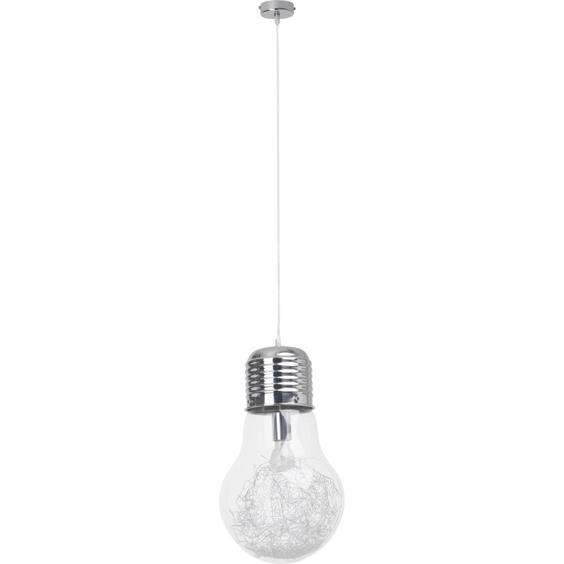 Suspension E27 Design Bulb Verre Transparent 1 X 60 W Brilliant