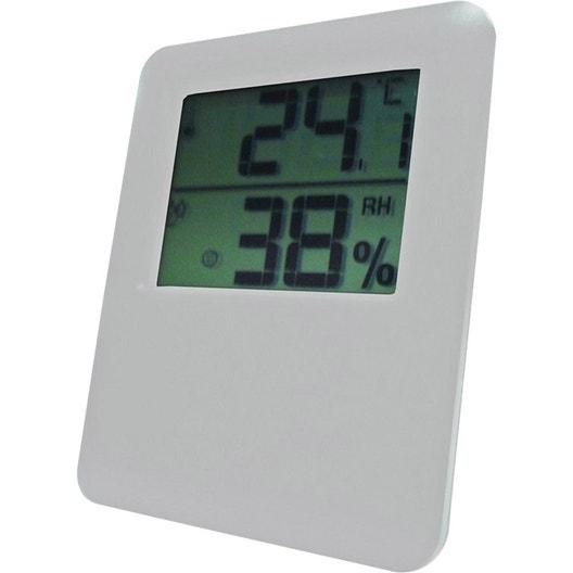 Tout savoir sur les d shumidificateurs humidificateurs et for Thermometre maison interieur