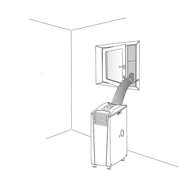 Calfeutrage Fenetre Pour Climatiseur Transform Suntec Leroy Merlin