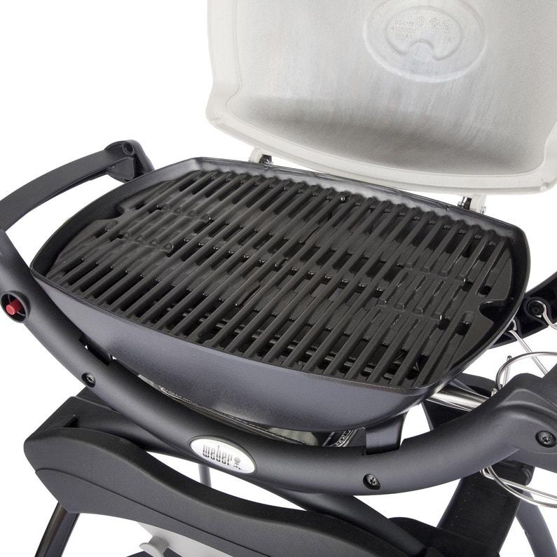 Barbecue Au Gaz Weber Q1000 Titanium Leroy Merlin