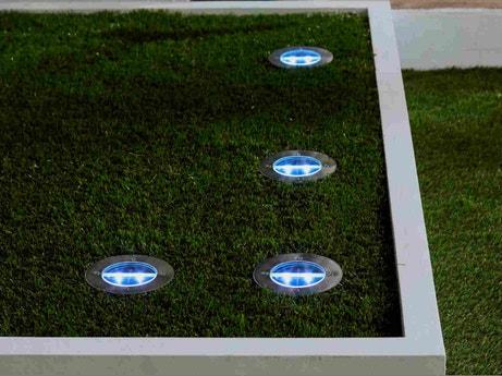 Eclairage Exterieur Luminaire Jardin Lampe Led Solaire Leroy Merlin