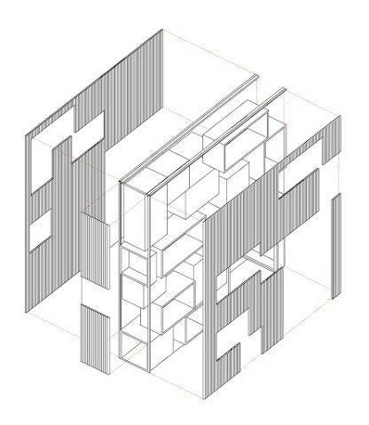 Comment r aliser un bureau encastr sous un escalier for Fixation plaque polycarbonate alveolaire