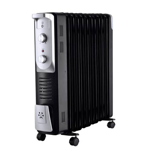 radiateur bain d 39 huile lectrique equation olea 2500 turbo 400 w leroy merlin. Black Bedroom Furniture Sets. Home Design Ideas